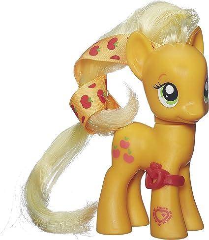 Amazon Com My Little Pony Cutie Mark Magic Applejack Figure Toys Games