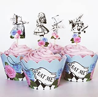 alice in wonderland tea party food