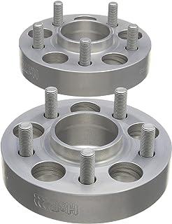 H/&R B60556651 DRA-System Wheel Spacer Set 60mm per axle Pattern 5x112-Hub 66,5mm-Bolt Size M14x1,5-Audi A4//Mercedes-Black
