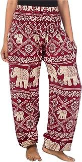 Elephant Harem Pants for Women S-4XL Plus Yoga Hippie...