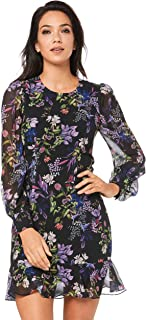 Cooper St Women's Le Jardin Long Sleeve Mini Dress