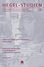 Hegel-Studien Band 53/54: Hegels Rechtsphilosophie (German Edition)