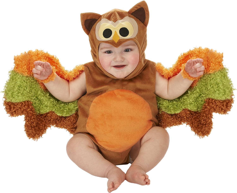 Just Pretend Kids Infant Romper, 6-12 Months, Owl