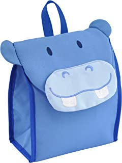green sprouts Safari Insulated Lunch Bag, Blue Hippo