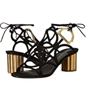 Salvatore Ferragamo - Geometric Lace-Up Sandal