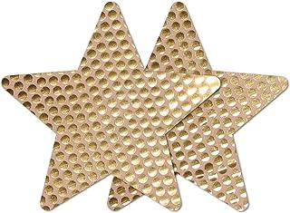 Nippies Style Gold Sequins Star Waterproof Self Adhesive Nipple Cover Pasties