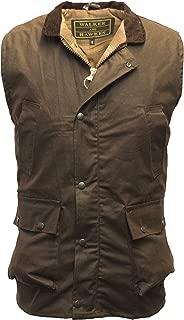 Walker & Hawkes - Men's Wax Bodywarmer Vest Countrywear Waistcoat