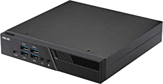 ASUS PB50-BR072MD - Mini PC (AMD Ryzen 5 3550H, 8GB RAM, 128GB SSD, Sin Sistema Operativo) Negro