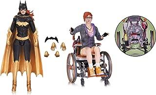 Diamond Comic Distributors Batgirl & Oracle: DC Collectibles Batman Arkham Knight Action Figure + 1 Free Official DC Trading Card Bundle (33729)