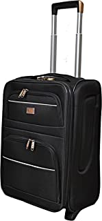 New Travel 0036-17 BLK 17'' Laptop Roller Cases, Black