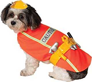 Rubie's Costume Company Construction Worker Pet Costume