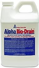 Alpha Tech Pet Bio-Drain, Drain Maintenance and Odor Eliminator, 1/2 Gallon Bottle