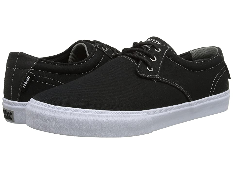 Lakai M.J. (Black/White Canvas) Men