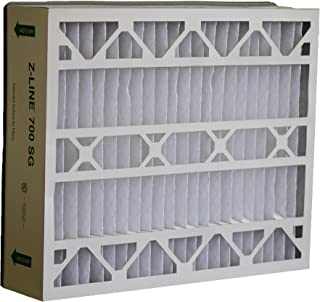 Glasfloss Industries SGP202562PK Z-Line Series 700 SG MERV 10 Air Cleaner Replacement Filter Option, 2-Case