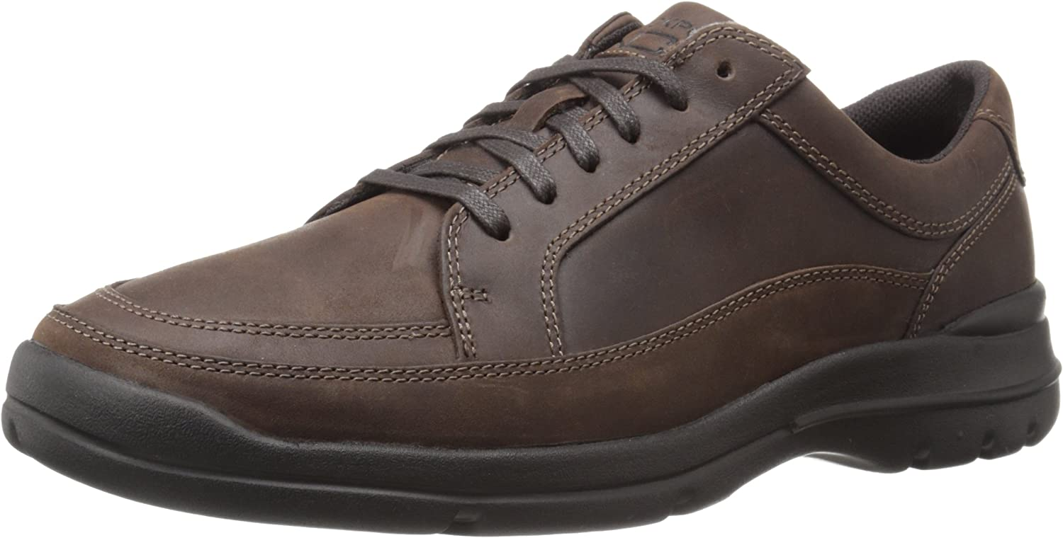 Rockport Men's CityPlay Two Lace to Toe Dark braun 9.5 W (EE)