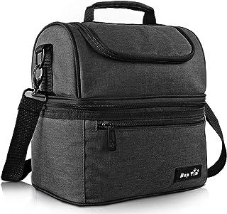 Hap Tim Sac Isotherme Repas Femme & Homme, Lunch Box Bag Isotherme Femme, Glaciere Souple Isotherme, 7.5 L Sac Repas Pour ...