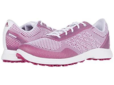 adidas Golf Alphaflex Sport (White/Power Berry/White) Women