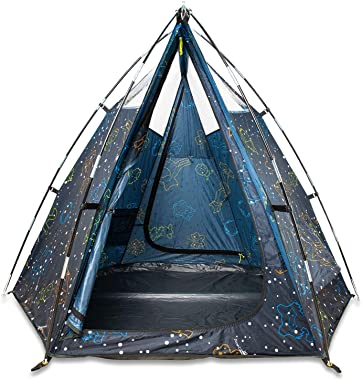 AceCamp Kids Play Tent,Waterproof Tepee Tents Glow in The Dark for Kids Playhouse Tent with Window for Indoor and Outdoor