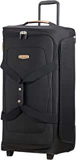 Spark Sng Eco Duffle With Wheels 77 Travel Duffle, cm, 107.5 liters, Black (Eco Black)