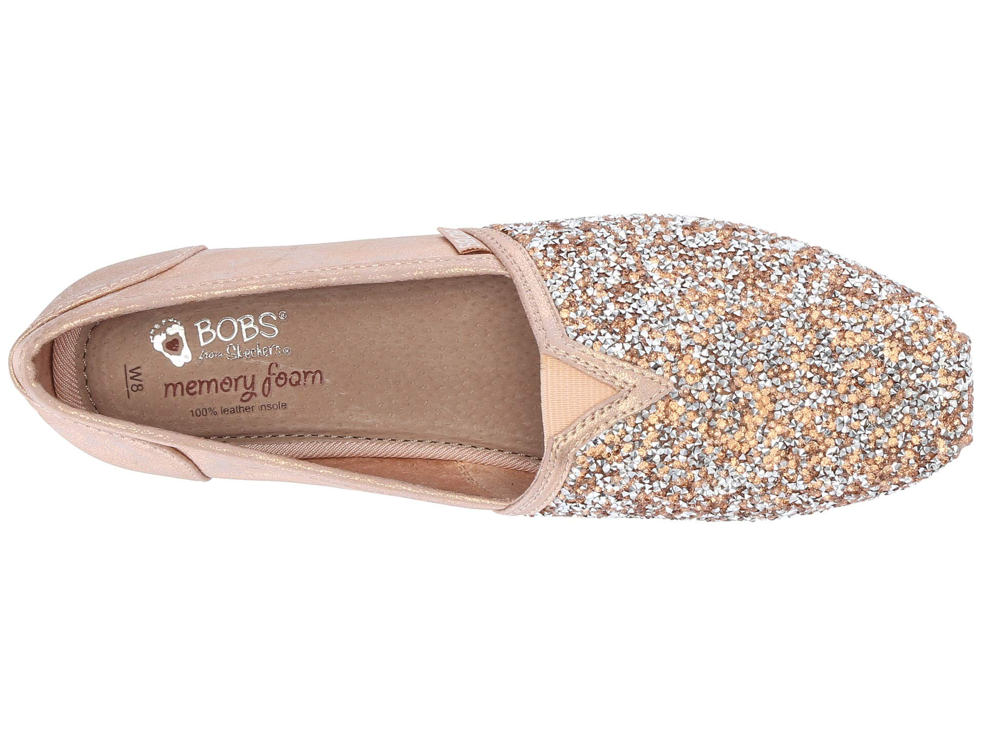Skechers From Rose Luxe Gold Bobs 0OFqw50
