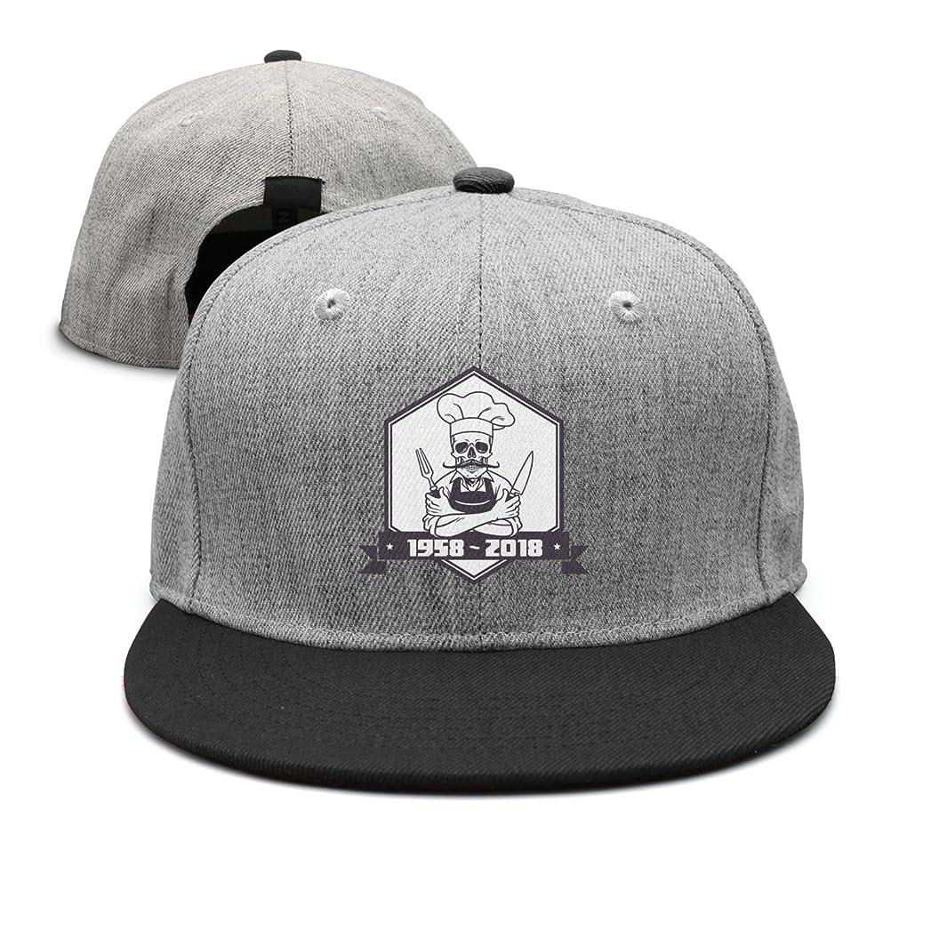 UHNJJJ Men's Anthony Skull Cooker Free Grid Hat Cap lfdbsfkxeyn44