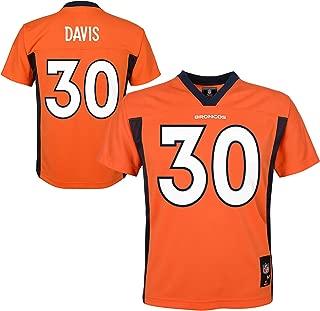 terrell davis orange jersey