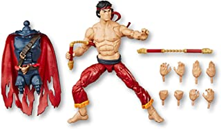 "Spider-Man Hasbro Marvel Legends Series 6"" Collectible Action Figure Shang Chi Toy, with Build-A-Figurepiece & Accessories"