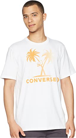 Converse Palm Trees and Hoops Tee