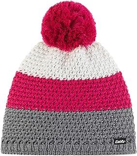 Eisbär Unisex_Adult Tibo Pompon MÜ Cap, Greyele-Pittipink-White/Pitti