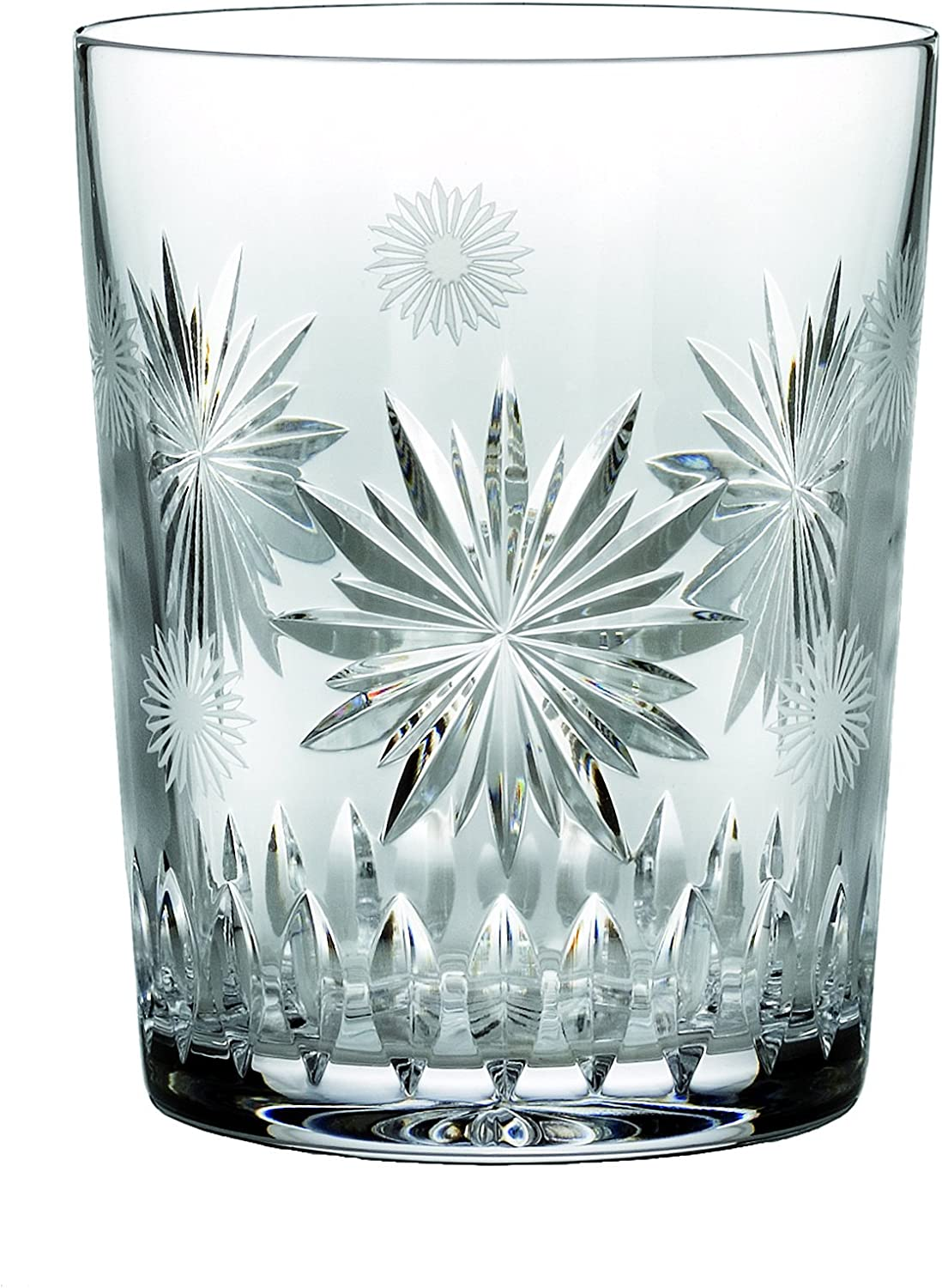 Waterford Crystal Snowflake Wishes for Courage Double Old Fashioned Glass, 2nd Edition