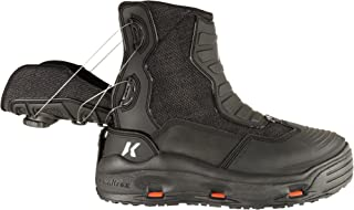 Hatchback Black Size 7 Fishing Boots with Kling-On and Studded Kling-On