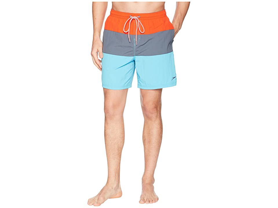 Speedo Colorblock Volley (Electric Orange) Men