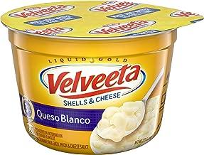 Velveeta Queso Blanco Shells & Cheese (2.39 oz Bowls, Pack of 10)