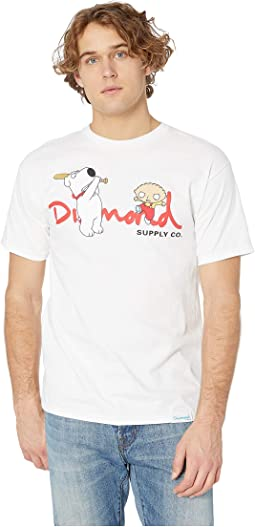 Family Guy OG Script Short Sleeve Tee