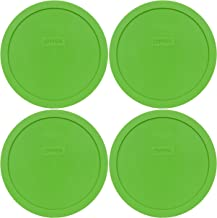 Pyrex 7402-PC Round 6/7 Cup Storage Lid for Glass Bowls (4, Green)