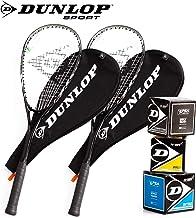 DUNLOP Ti Series Squashschläger Set