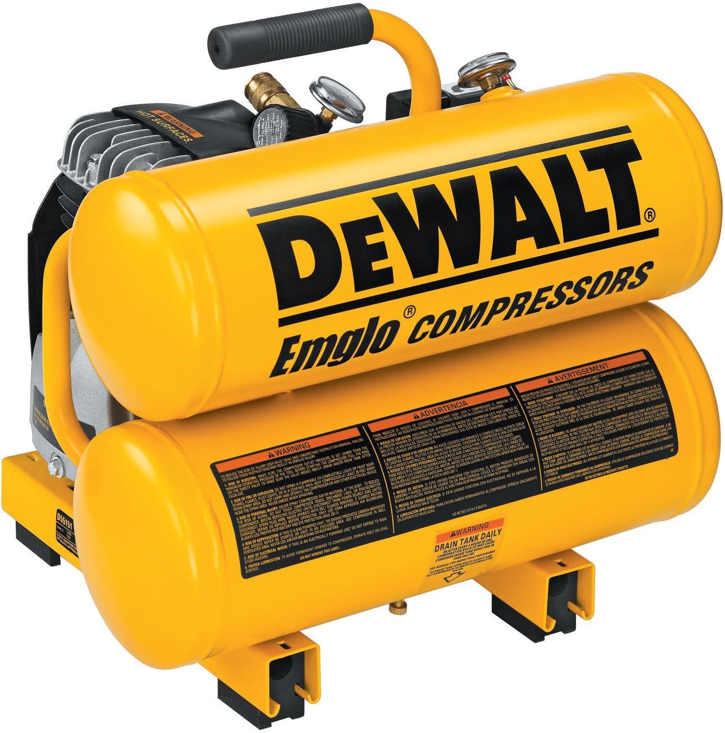 DEWALT D55151 Oiled Twin Hot Dog Compressor