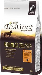 True Instinct High Meat Adult - Nature's Variety - Pienso para Perro Medium-Maxi Adulto con Pollo - 2kg