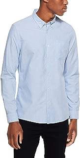 French Connection Men's Pale Blue L/S Custom FIT Shirt