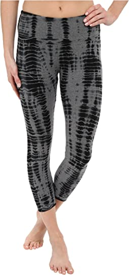 Flat Waist Capri Leggings
