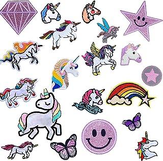 Parches De Unicornio Para Ropa,Patch Stickers Ropa,Para Manualidades,Parches Para Planchar Infantil, Patch Sticke,Camisas,...