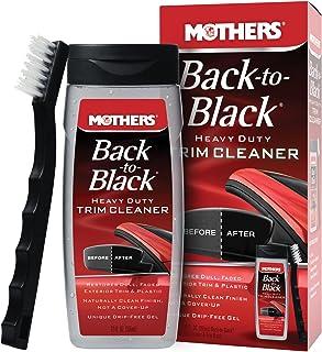 Mothers 06141 Back-to-Black Heavy Duty Trim Cleaner Kit,12 fl. oz.