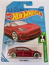 Hot Wheels 2019 Hw Green Speed Tesla Model 3, Red 226/250