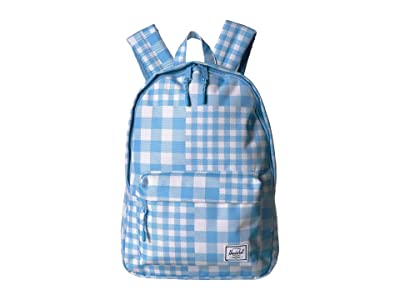 Herschel Supply Co. Classic Mid-Volume (Gingham Alaskan Blue) Backpack Bags
