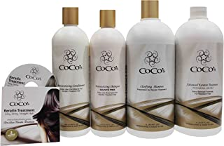 Chocolate Brazilian Hair Keratin Treatment Package Special