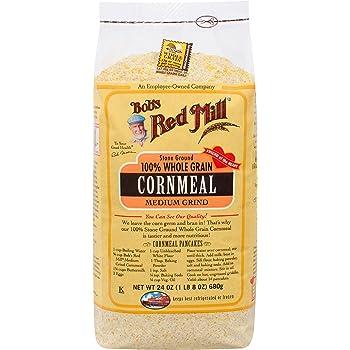 Bob's Red Mill Medium Grind Cornmeal, 24-ounce