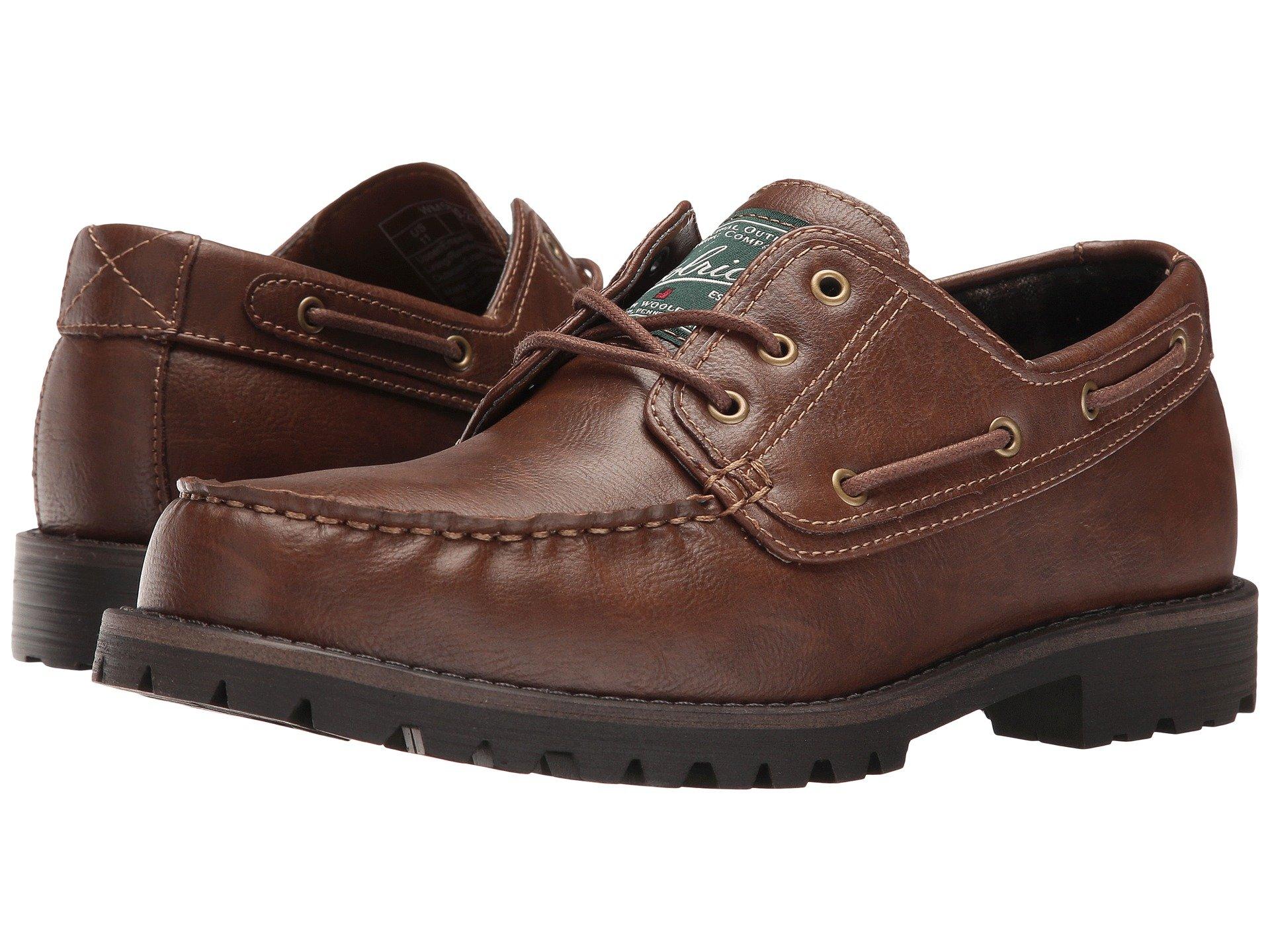 Calzado Tipo Boat Shoe para Hombre Woolrich Trout Run  + Woolrich en VeoyCompro.net