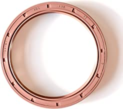 EAI Double Lip w//Garter Spring 1.772x3.150x0.394 2 PCS Oil Seal Grease Seal TC Oil Seal 45X80X10 45mmX80mmX10mm Single Metal Case w//Nitrile Rubber Coating