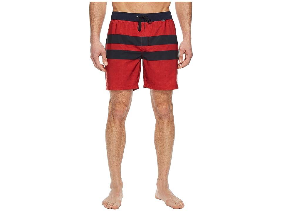 Hurley Phantom Blackball Volley Shorts (Speed Red) Men