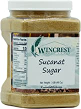 Sucanat Sugar - 3 Lb Tub